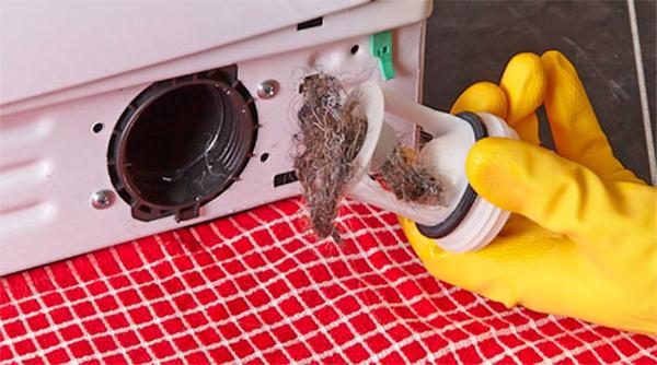 Почему не сливается вода из стиральной машины бош