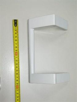Ручка Позис медицинского  холодильника с толкателем белая - фото 26936
