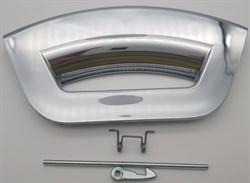 Ручка люка СМА Ariston Futura хром, зеркальная WL242C зам. C00287769=287769, UNI405310=405310 - фото 28137