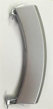 Ручка люка СМА Bosch серебро i01BO03 зам. 00751783=751783, WL237, Bo3819, 00751786=751786, 00648581=648581, DHL010BO, 21BS020, UNI405279=405279, i01BO03 - фото 28164