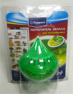 """Поглотитель запаха для холодильника гелевый """"Яблоко"""" - фото 28274"""
