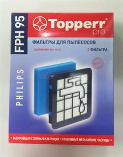Комплект фильтров для пылесосов Philips FC9569/01,FC9570/01,FC 9571/01,FC 9573/01,FC9 FPH 95 - фото 28418
