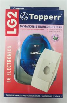 Мешок для пылесоса LG Magic,Turbo Storm, 5 шт. в упак. LG 2 - фото 28714