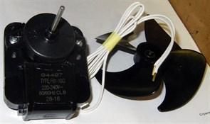 Вентилятор для холодильника с крыльчаткой 100mm 220V зам. 481936170011, MTF720RF, MTF703RF, 851102, 16vn23 FR2815