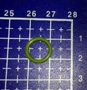 Кольцо уплотнитель ЗЕЛЕНЫЙ 9.25x1.78 Necta