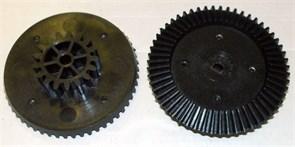 Шестерня мясорубки Ротор, черная большая D=83/38, H21, коническая