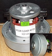 Мотор пылесоса 1800W H/h=119/50mm, D/d=135/83mm зам. VCM1800un, VAC044UN VC07156W