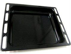 Противень 364x446x56, ENAMELLED DRIP TRAY BLACK 098172