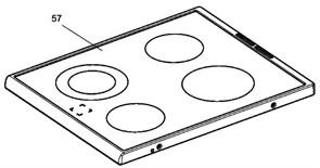 Стеклокерамическая панель Electrolux 3428382455