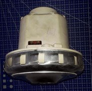 Мотор пылесоса 1350W моющий Zelmer THOMAS оригинал H/h=128/42 D/d=131/58mm 11me77 зам. 54AS016, VC07195W, VC07139FQw, 145610, VAC039UN, HX-80L, VAC060UN, DOMEL 467.3.403, 100368
