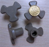 Коуплер тарелки СВЧ H=23mm, под 10коп. зам. MCW929UN, MA02A01, 49006055, MCW910UN, MCW921UN MCW923UN