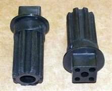 Втулка шнека Braun черная зам. BR7002718, BR4195614, br.7002718 MM0339W
