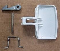 Ручка люка стиральной машины Indesit зам. 035766, AD3826 WL175