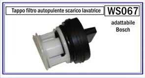 Заглушка-фильтр насоса BOSCH 00605020 WS067