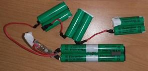 Аккумуляторы пылесоса ELECTROLUX Zanussi 10шт зам. 4055132304