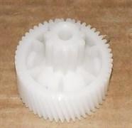 Шестерня мясорубки Moulinex HV2 зубья 50 косые, 11 прямые, H=39, h19, D41, d17 зам. MM0361W MSHV2
