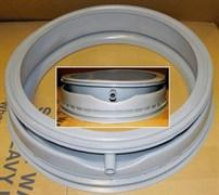 Манжета люка (резина дверки) стиральной машины Bosch MAXX5, MAXX6 с отводом зам. 00361127, Vp3208E, 55BY001, WG100, GSK007BO Bo30511