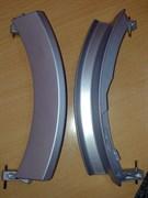 Ручка люка Bosch Siemens серебро WL237 зам. 405279, 751786, зип 9000389973, 55000000037789, 648581, DHL010BO, Bo3819
