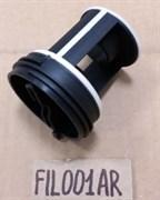 Заглушка-фильтр насоса стиральной машины Indesit Ariston FIL001AR зам. FIL000AR, 045027, 141034, WS061, 1.23.012.09, FLT101ID