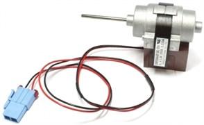 Мотор вентилятора холодильника Bosch Siemens Daewoo без крыльчатки D4612AAA21 DC 13V 3.3W зам. 00601067, 28FR044 MTF708RF