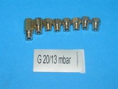 Комплект форсунок для перехода на сжиженный газ 4P G20/13 D3 зам. 176124