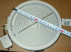Конфорка стеклокерамика 1700W 200-180mm Hi-light 390174 зам. 480121101516, 315719, 481231018889, 481231018902, 10.58111.044, 3890711, 554328, COK056UN
