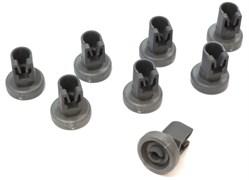 Комплект 8шт. ролики корзины ПММ Electrolux зам. 50286967000, 50269921008 DWB906ZN