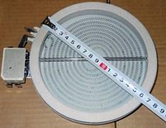Конфорка для стеклокерамики 1200W D165/d145mm Hi-light зам. 480121101514, 481925998586, 481225998314, 3740635010, 3740635218, COK057UN, 260941, 00358684, CU65611 481231018887 327340