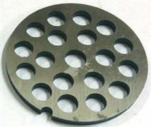 Решетка мясорубки Помощница D=53,5mm h=3mm отверстия 7,2мм RPM007