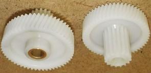 Шестерня мясорубки D=47, d18, H35, h12mm Elenberg, Panasonic зам. PN005, MSR30013, MM0329W