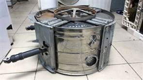 Бак в сборе (металлический) БУ без шкива стиральной машины Indesit 1932bu