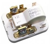 Реле компрессора Danfos SECOP 103N0021 клемма 4,8mm 240V 25om зам. 29FR810, 29FR010 RLY007DF
