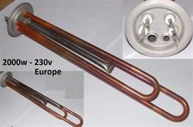ТЭН водонагревателя RF-64 2000w 230v M6 медь SpT066052 зам. 3401309, 182502, TM13981c, WTH004TX, WTH014TX ET1268cu