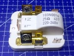 Реле компрессора холодильника Danfos 103N0016 RLY004DF