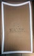 Уплотнитель двери холодильника Indesit 116(б) 101*57,5см C00854009K