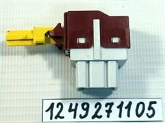 Кнопка сетевая стиральной машины Zanussi 1249271105 зам. AEG 8996454261919, ZANUSSI 1245408008, 1245097009, 1245098007