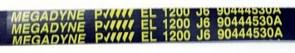 Ремень 1200 J6_EL черный 1163мм megadyne 90444530u