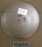 Тарелка СВЧ 245mm с креп. Panasonic LG MCW011UN зам. 49PM005, 95pm02, 3390W1G005A, 3390W1G005B, 3390W1G005D, MA0102TW