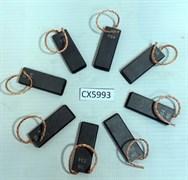 Щетки двигателя 5x13,5x35мм сэндвич CX5993 зам. CU135UN, IG1507, 10658033, UN135sn, CAR014UN, SD006sn, 04go00c, CAR024UN, GG143, CAR135UN
