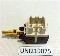 Кнопка включения 3кон стиральной машины ZANUSSI 219075 зам. 1249271006, 1245404007, 1240331007, SB0121151