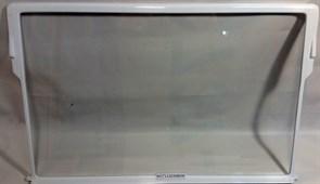 Полка стеклянная с обрамлением 525x330 атлант зам. 371320308000