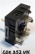 Переключатель конфорки EGO 13A 240V, шток-22mm COK352UN зам. 50.57071.010, 50.87071.000