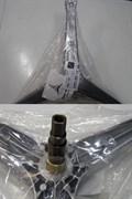 Крестовина барабана стиральной машины SAMSUNG зип. DC97-00124G cod732 зам. DC97-00124D, SPD010SA, DC97-01819C, DC97-01819A, DC97-01819B, EBI732