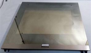 Стекло двери духовки HANSA внешнее 476/370 + крепление для доп. стекол 9040512