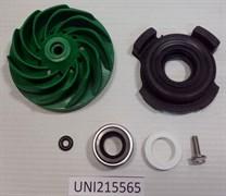Крыльчатка с уплотнителем посудомоечной машины ZANUSSI 215565 зам. 50248332004, 50228465006