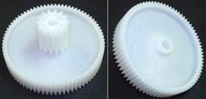 Шестерня мясорубки Panasonic D=80/24mm, H-37/15, зуб-78пр/14пр., под стержень 8mm SPN8024 зам. MSR41132, 41.132-VIT