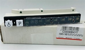 Модуль управления ПММ Indesit Ariston PLP2 4P LED 2B C00306471 зам. 301425=C00301425, C00305051=305051, WHIRLPOOL 482000040703