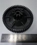 Шестерня малая к электромясорубке Ротор, Д-86/27мм, зубья 56/11шт. (Прямой/прямой)