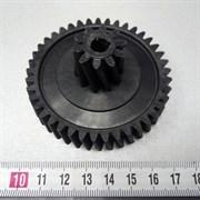 Шестерня для мясорубок Philips HR2708-14 средняя, Д-76/25мм, зубья 41/10шт. (Косой/косой)