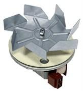 Мотор вентилятора конвекции 30W 230V длинный шток-29мм D-150mm Ariston 231154 зам. 231153=UNI231153-короткий шток